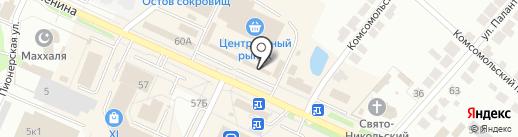 ЭкспрессДеньги на карте Волжска