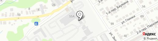 АМ на карте Ульяновска