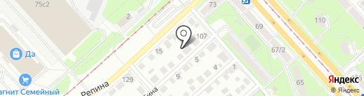 Адвокатский кабинет Шакуровой Е.Е. на карте Ульяновска