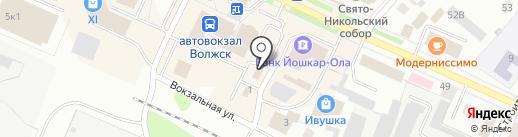 Спутник+ на карте Волжска
