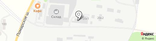 Уют-М на карте Волжска