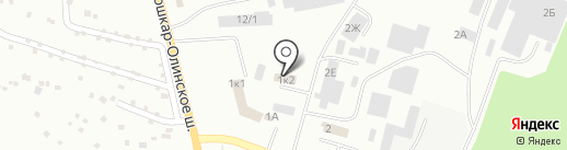 Волжск-Авто на карте Волжска