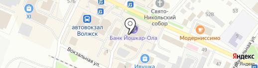 Отдел вневедомственной охраны при МОВД Волжский на карте Волжска