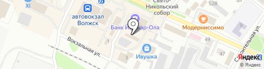 Магазин текстиля на карте Волжска
