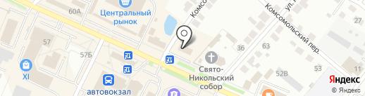 Мир подарков на карте Волжска