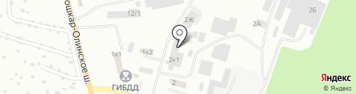 Строй Комплект на карте Волжска