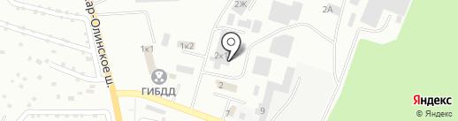 Магазин автокрасок на карте Волжска