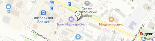Отдел вневедомственной охраны по г. Волжску на карте Волжска
