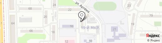 Почтовое отделение №5 на карте Ульяновска
