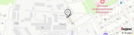 Адвокатский кабинет Шабанова А.Ю. на карте Ульяновска