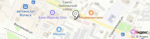 Союз потребителей на карте Волжска