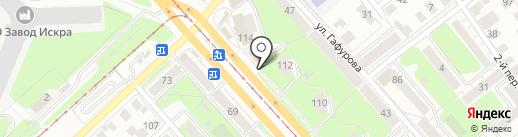 Монастырская лавка на карте Ульяновска