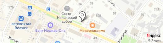 Банк ВТБ 24, ПАО на карте Волжска