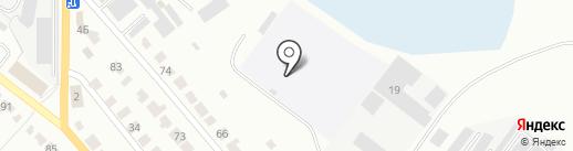 Волжанка на карте Волжска