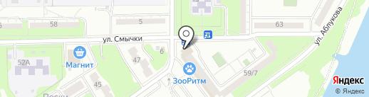 Обряд на карте Ульяновска