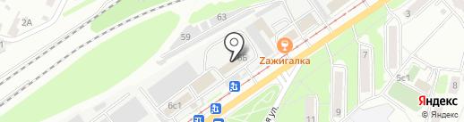 АВЕ-проект на карте Ульяновска