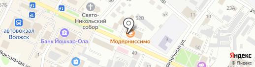 Фон бет на карте Волжска