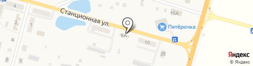 Домовитый на карте Помар