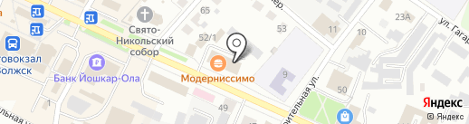 НАКТА-Кредит-Регионы на карте Волжска