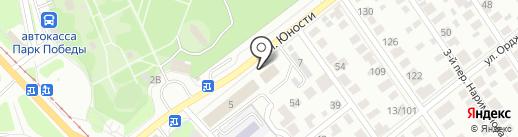 Сафари на карте Ульяновска
