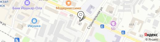 Типография на карте Волжска