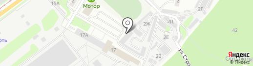 СТО на Строителей на карте Ульяновска