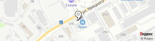 Сателлит-Авто на карте Ульяновска