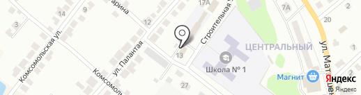 Отдел службы судебных приставов по Волжскому району Республики Марий Эл на карте Волжска