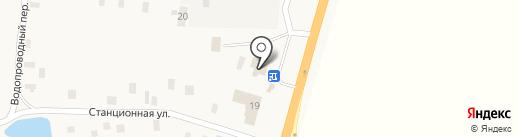 Пельменная на Помарском шоссе на карте Волжска