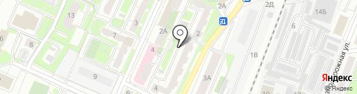 Стеклодекор на карте Ульяновска