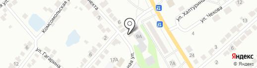 Продуктовый магазин на ул. Карла Либкнехта на карте Волжска