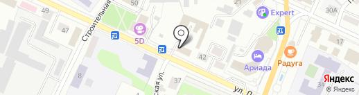 Марий Эл-РОСНО-МС на карте Волжска