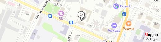 Золотая миля на карте Волжска