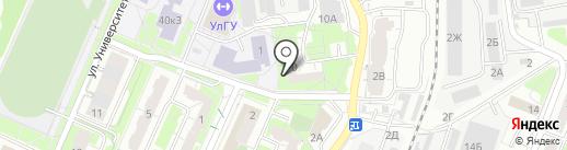 Экспертная специализированная организация на карте Ульяновска
