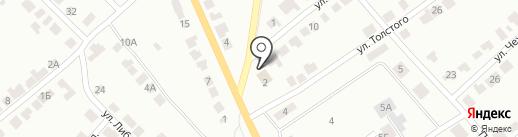 Стрелок, ЧОУ ДПО на карте Волжска
