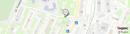 Ключ здоровья на карте Ульяновска