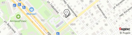 Геодезическая компания на карте Ульяновска