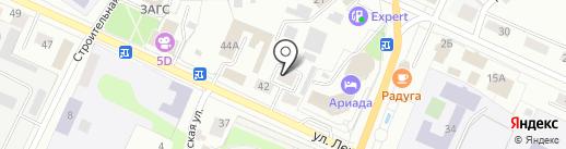 Эдем на карте Волжска