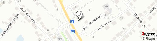 СДЭК на карте Волжска