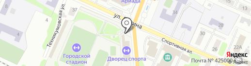 Отдел по физической культуре, спорту и делам молодежи Администрации г. Волжска на карте Волжска