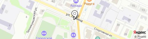 Олимп на карте Волжска