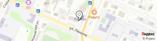АВА-Финанс на карте Волжска