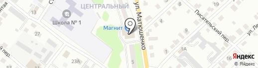 Пилот на карте Волжска