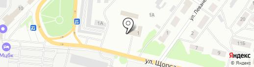 Пожарная часть №1 на карте Волжска