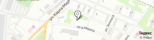 Городская больница №1 на карте Волжска