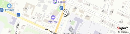 Радуга на карте Волжска