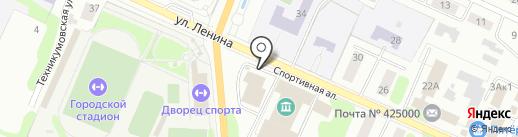 Пекарня на карте Волжска