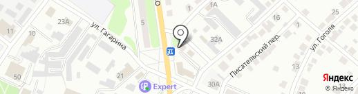 Автодетали на карте Волжска