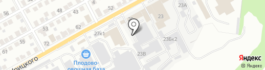 Искра-Бокс №1 на карте Ульяновска