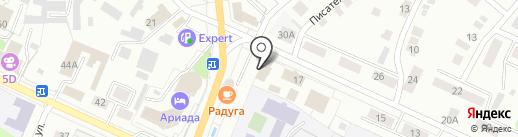Мировые судьи г. Волжска на карте Волжска